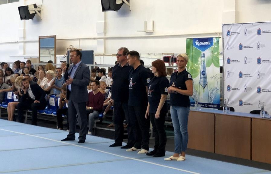 Дмитрий Микель пожелал успехов юным гимнастам Тольятти
