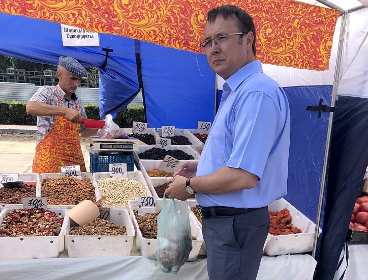 Дмитрий Микель высоко оценил инициативу по проведению выставок-ярмарок сельхозпроизводителей