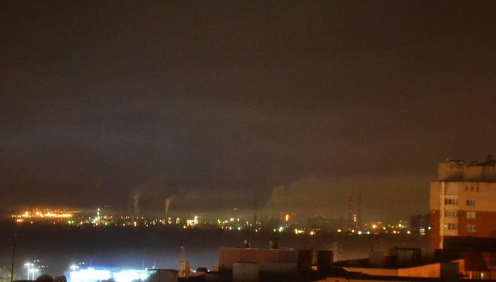 Администрация: Аварийных выбросов загрязняющих веществ в городе не было