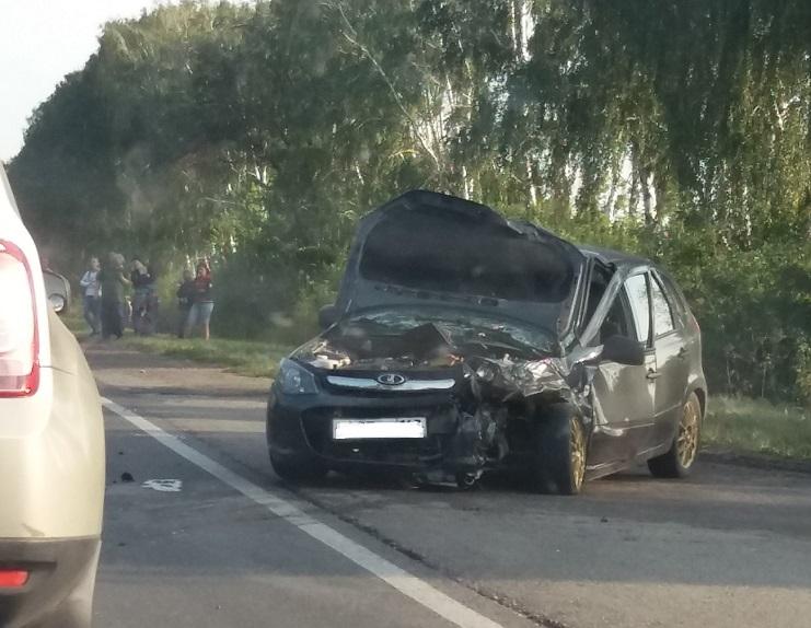 Пять человек пострадали в столкновении двух машин под Тольятти