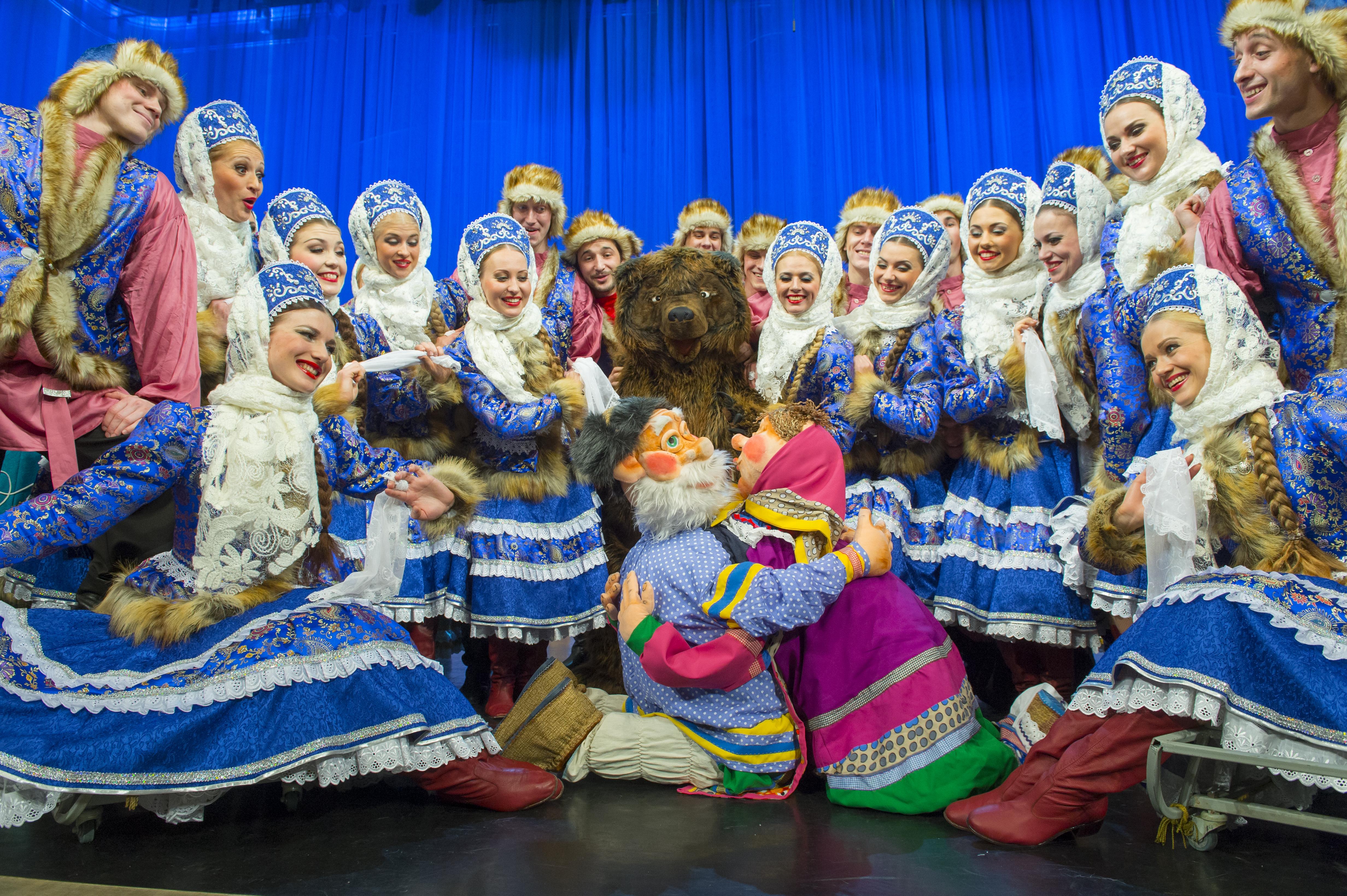 Омский русский народный хор выступит в Тольятти