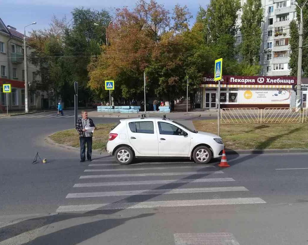 17-летняя тольяттинка попала под колеса машины по дороге в школу