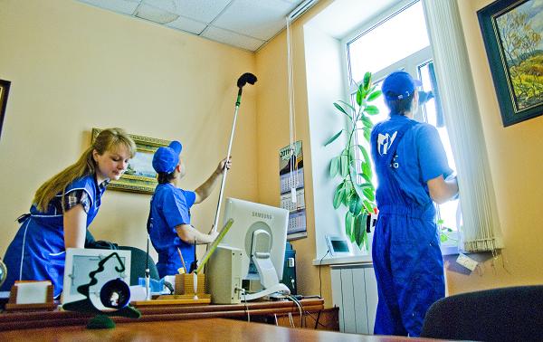 Профессиональная уборка офисов и домов