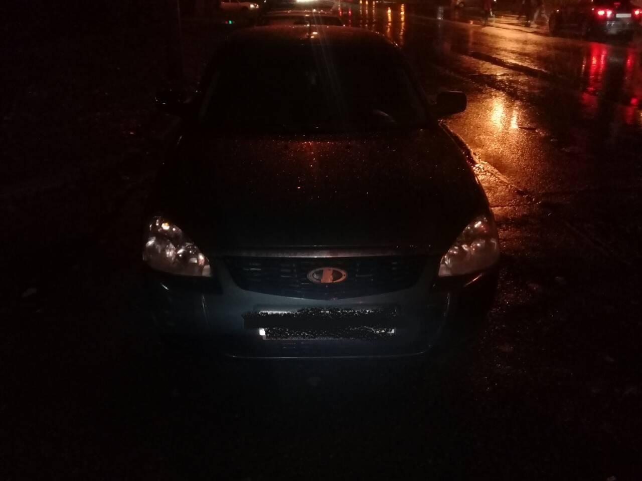 На улице Автостроителей автомобилист сбил женщину на переходе