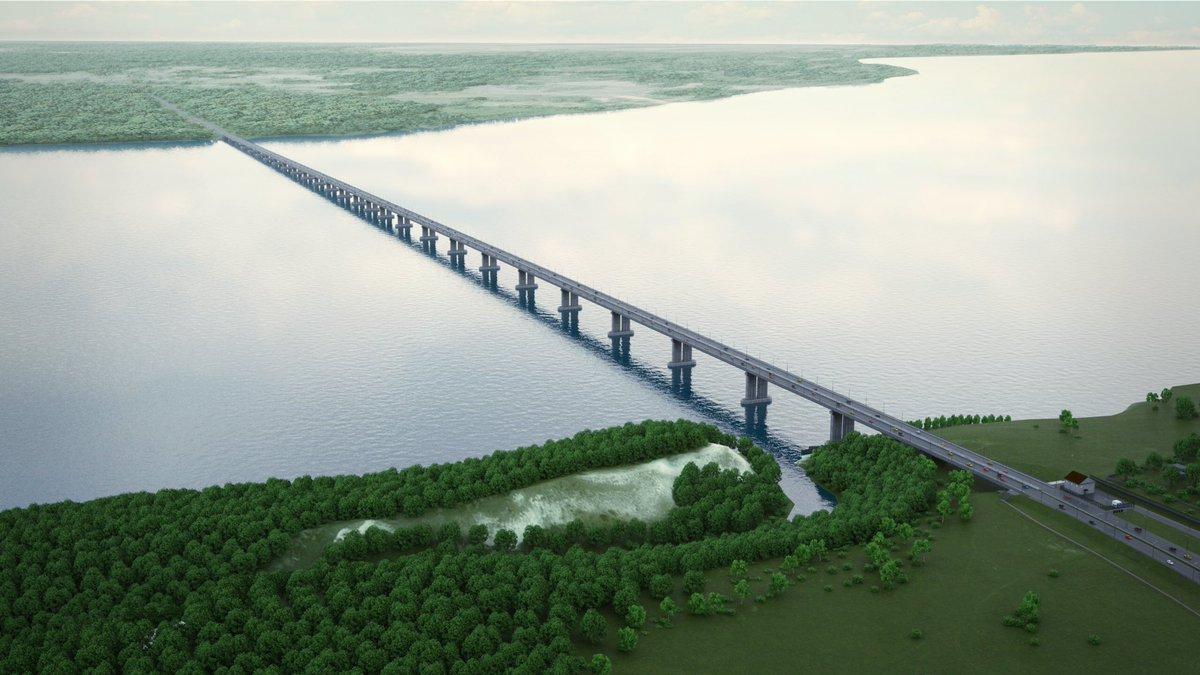 Мост через Волгу у Тольятти начнут строить в 2019 году