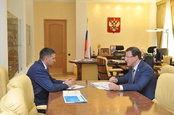Дмитрий Азаров обсудил с министром природы РФ участие региона в нацпроекте «Экология»