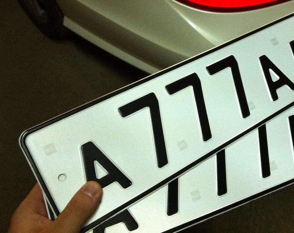 МВД предложило отменить госпошлину за выдачу автомобильных номеров
