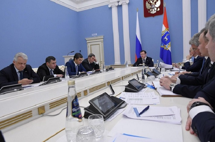 Дмитрий Азаров обсудил с депутатами Госдумы и сенаторами участие Самарской области в национальных проектах