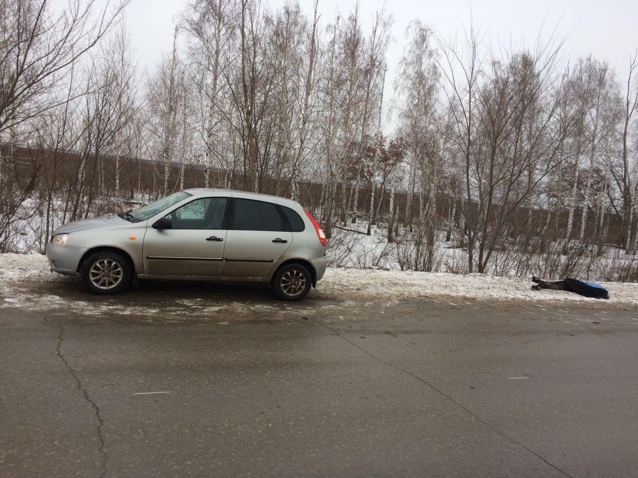Шла по проезжей части: Под Тольятти «Калина» сбила насмерть женщину