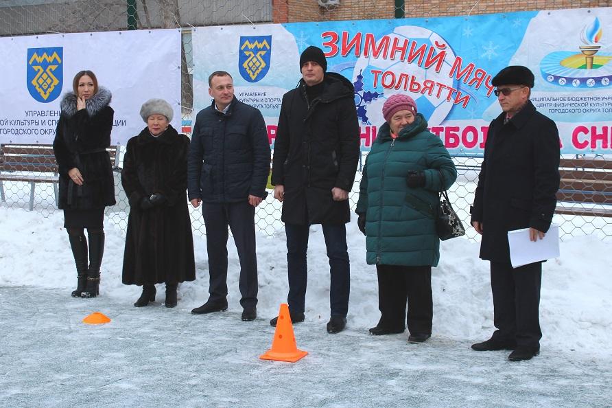 В Тольятти открыли новые детские и спортивные площадки