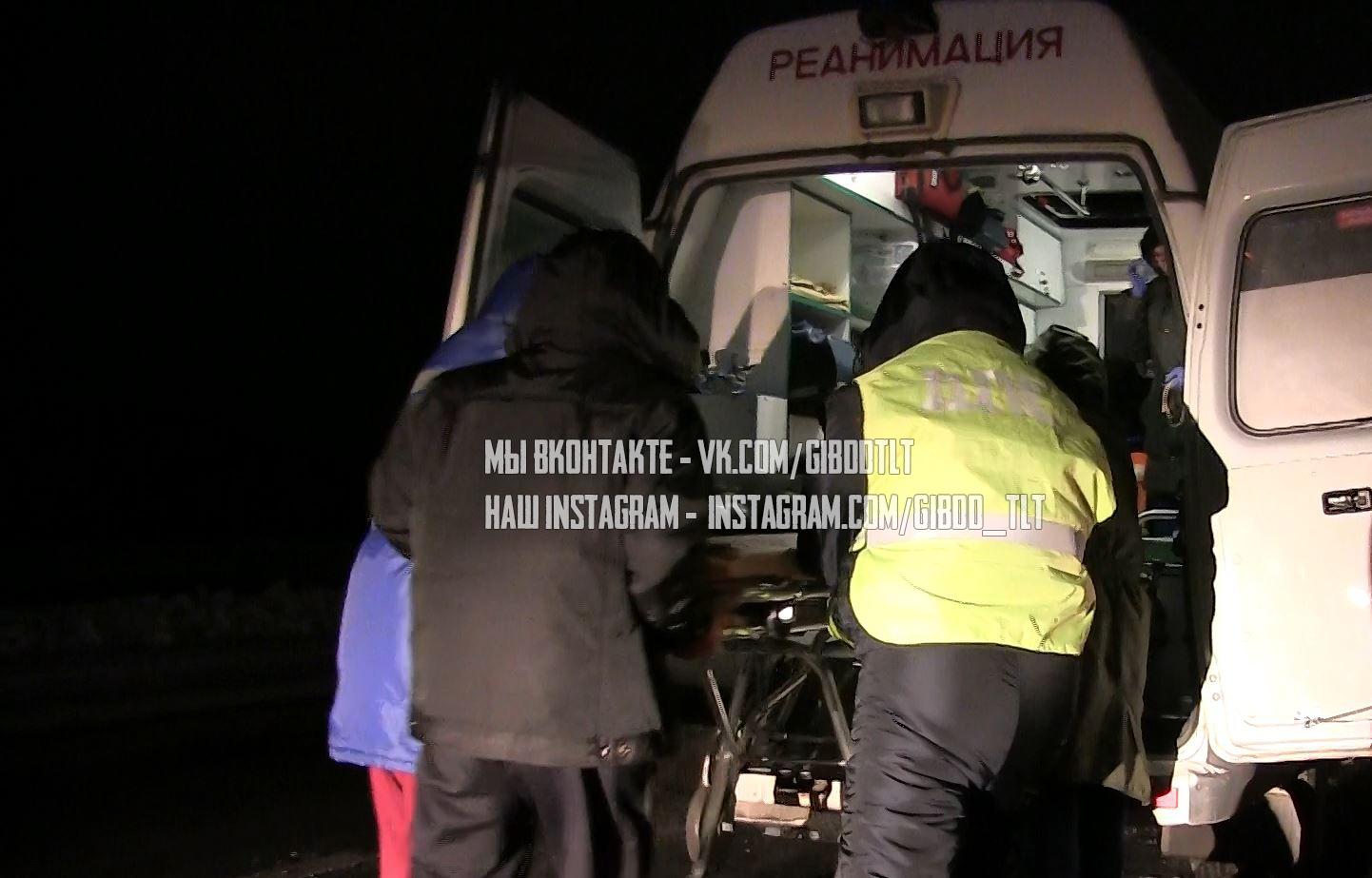Под Тольятти «Ниссан» сбил женщину, нарушившую ПДД
