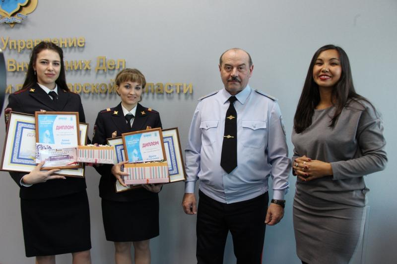 Тольяттинка стала самой красивой сотрудницей полиции в регионе