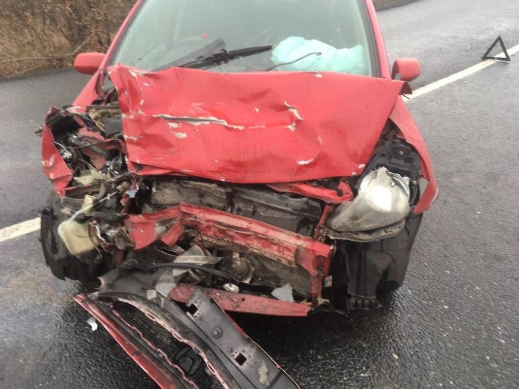 Под Тольятти пьяный водитель иномарки врезался на «встречке» в «Газель»
