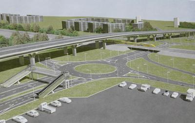 «Поволжуправтодор» рассказал о ходе работ на строительстве трехуровневой развязки в Тольятти