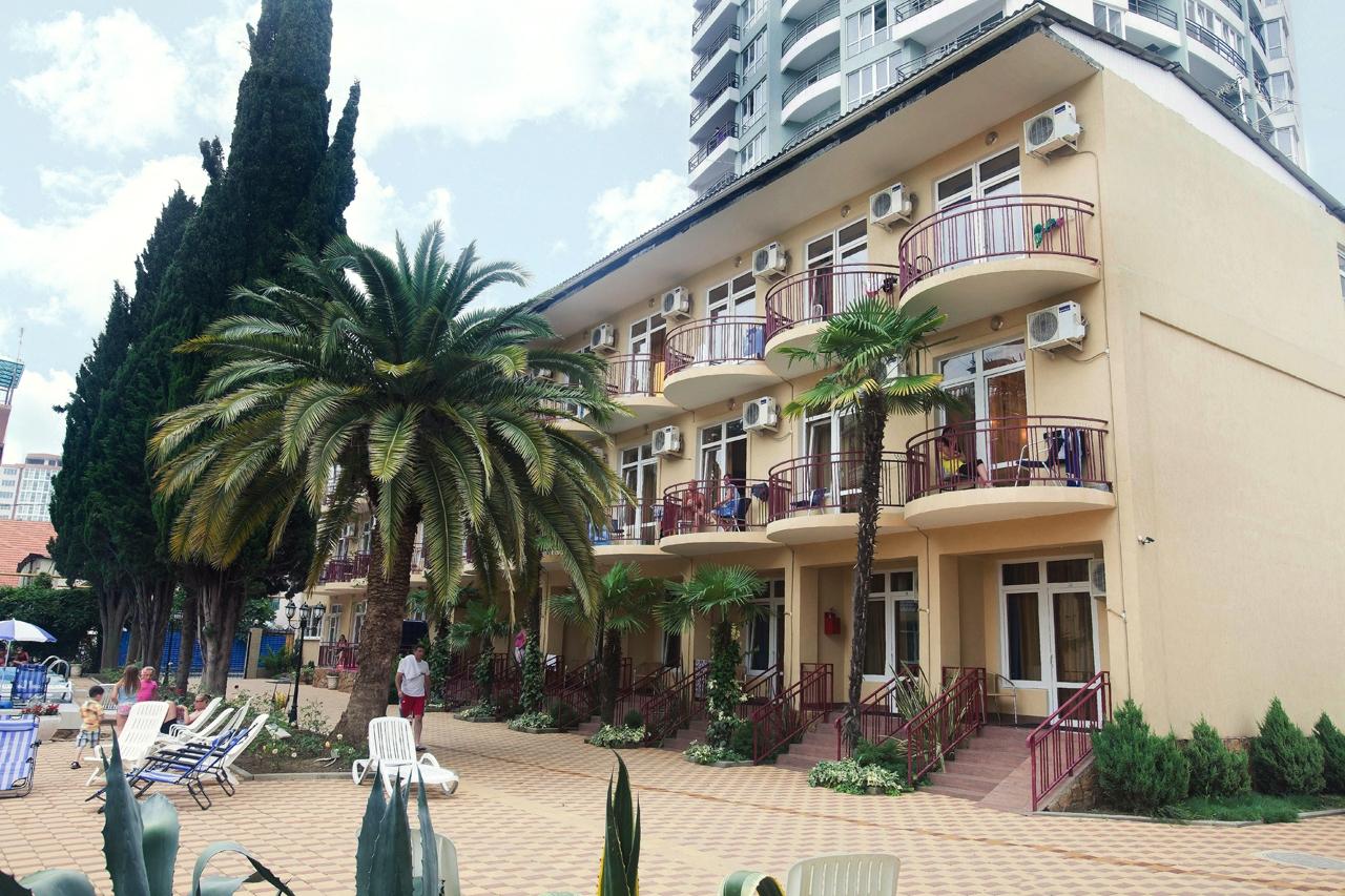 ГК «Кипарис» − идеальное место для временного проживания во время отдыха в Адлере