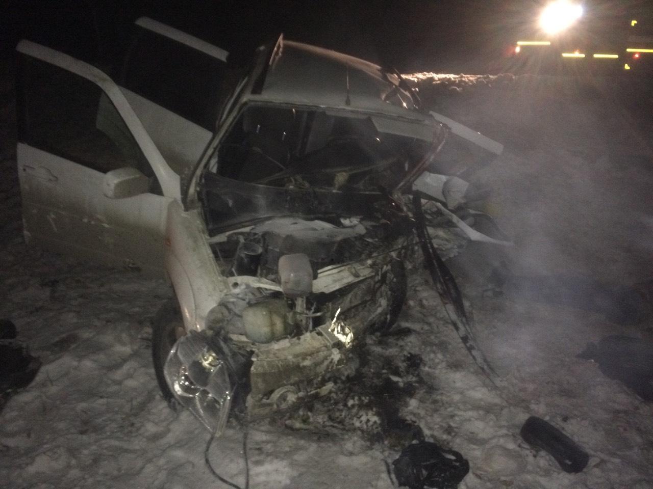 Четверо детей пострадали и двое взрослых погибли в аварии трех машин под Тольятти