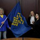 Флаг Тольятти побывал в самой восточной точке России