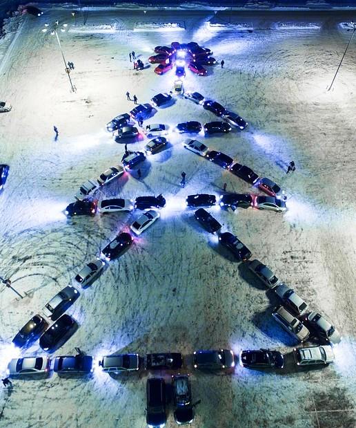 20 декабря в Тольятти пройдет автомобильный флешмоб!