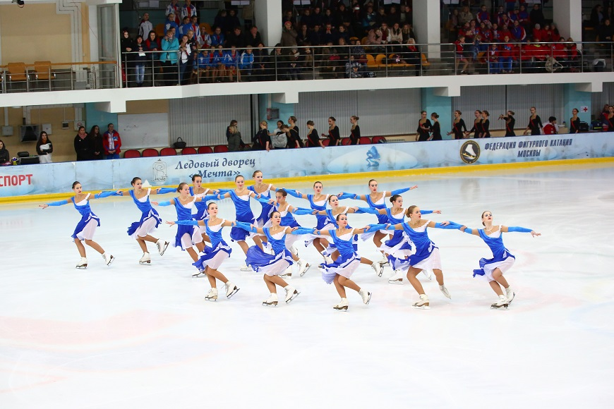 В Тольятти состоится Кубок России по синхронному катанию на коньках